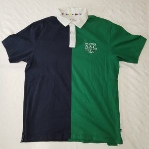 Nautica Sailing Club polo men sz 2XL vintage 90s